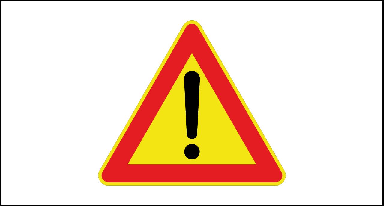 Fig. II 35/gl Art.31 – Altri pericoli temporaneo
