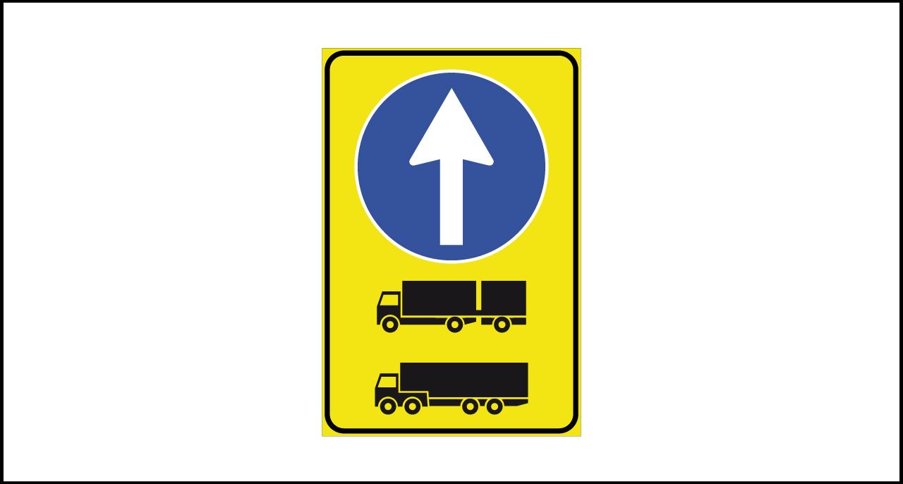 Fig. II 409/b Art.43 – Direzione autocarri obbligatoria