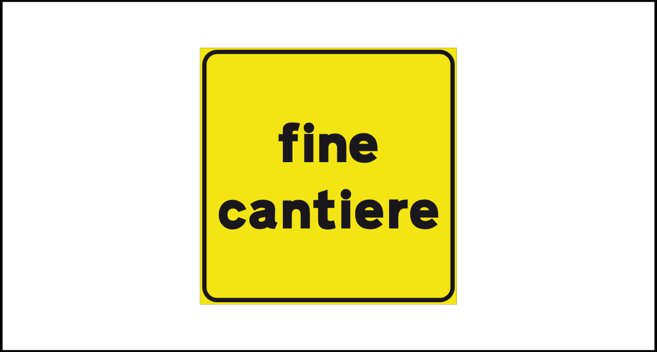 Fig. II 801 – Fine cantiere