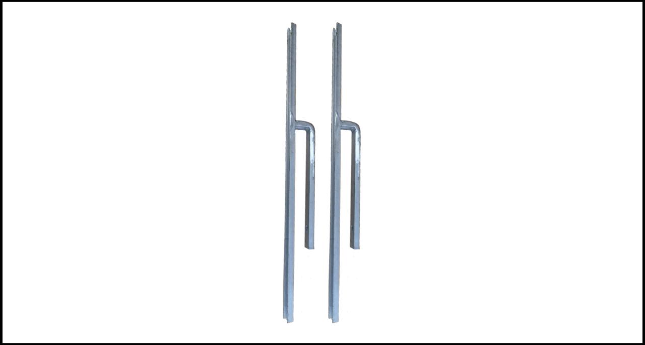 SLR1620 – Staffa per installazione (Fig. II 398 / SLR2127 su sponde automezzi)