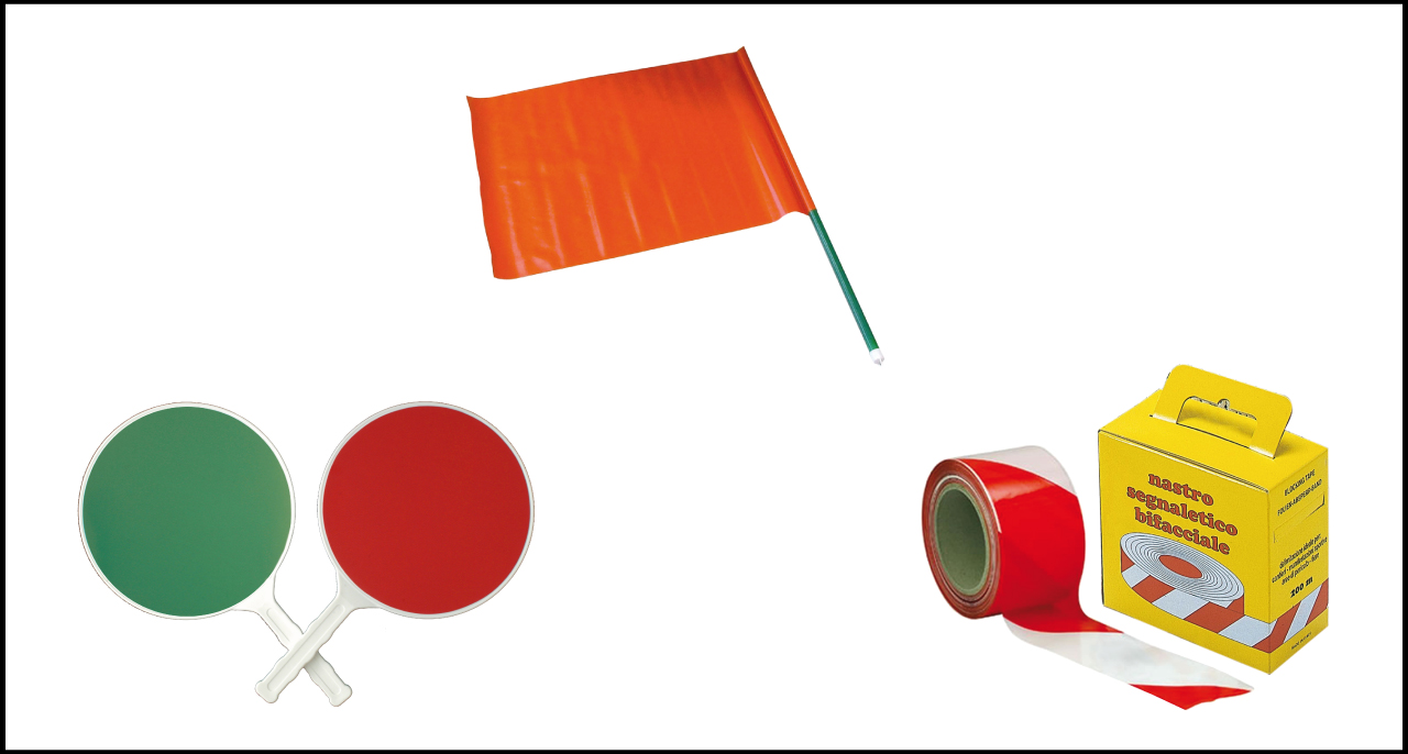 Nastri/bandiere/palette